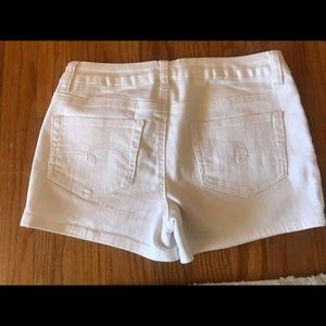 Justice Bottoms - Justice white jean shorts